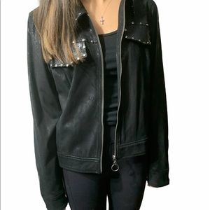 NWOT Highline Collective Faux Suede Jacket